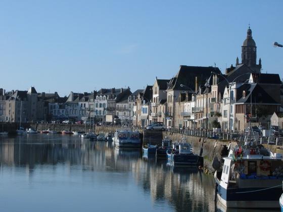 Le Croisic, Loire-Atlantique. Brittany. 'Le Croisic' is the breton name 'Kroazig', meaning little Cross.