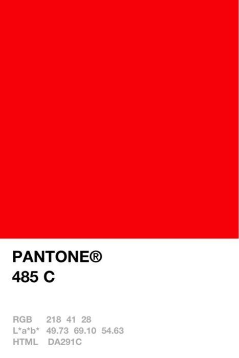 pantone red colors - Google Search