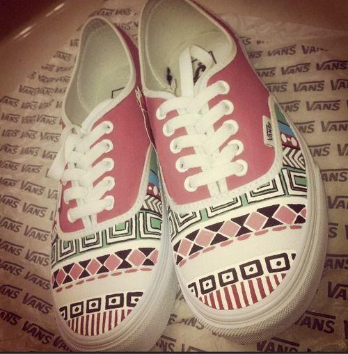 Schuhe bemalen