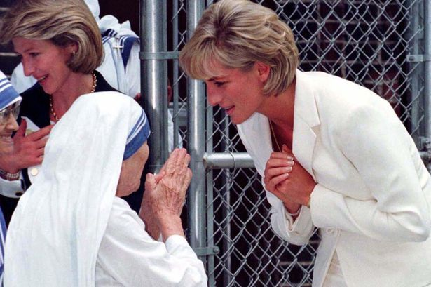 Unseen Diana letters reveal impact Mother Theresa had on ...