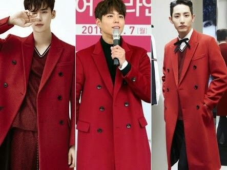 Lee Jong Suk X Park Bo Gum X Lee Soo Hyuk 👉 I like how preppy Suhyuk style is 🎀