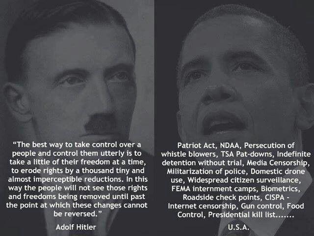 Hitler vs Obama