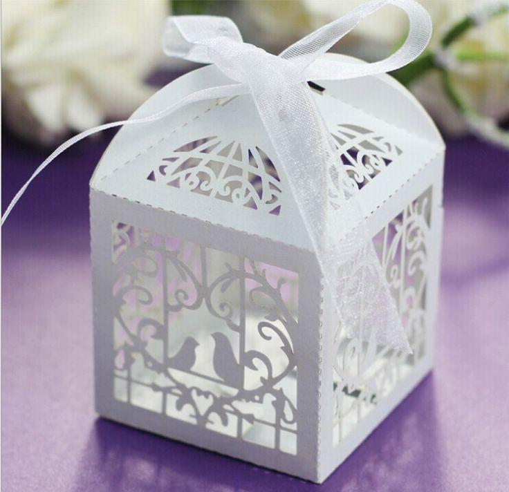 Pas Cher Achetez Directement De China Suppliers Free Shipping 50 Pcs Nouveau Tourtereaux Creux Wedding Party Favorswedding