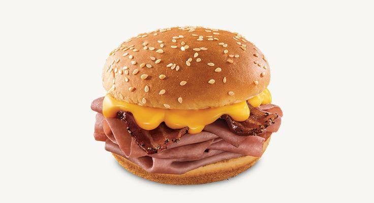 Arby's   Jr Bacon Cheddar Melt.