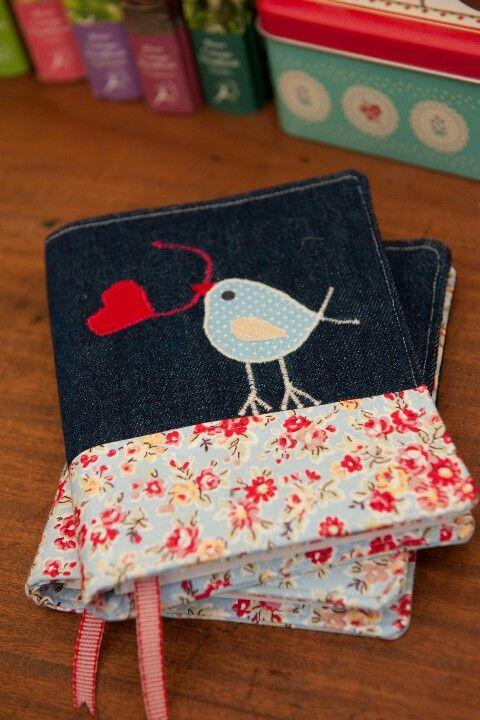 Bird notebook cover