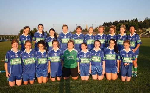 Junior Football Championship Round 1 Win for AGB Ladies