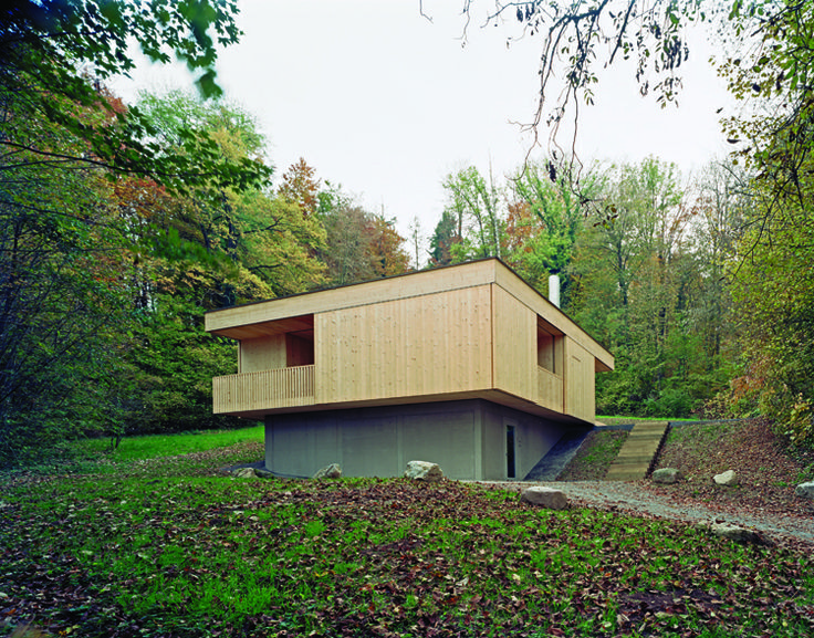 Trublerhütte / Rossetti + Wyss Architekten