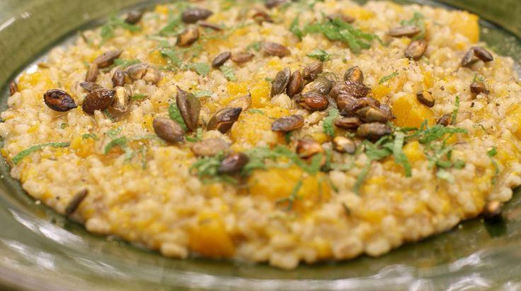 Risotto van gerst, butternut-pompoen en salie | Dagelijkse kost