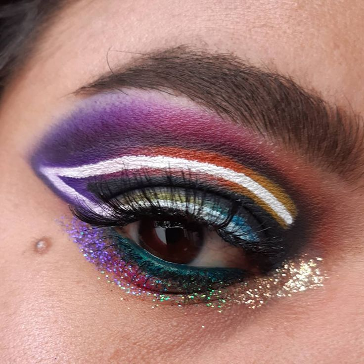 Neon Light Makeup Idea Well They Say That The Habit Makes The