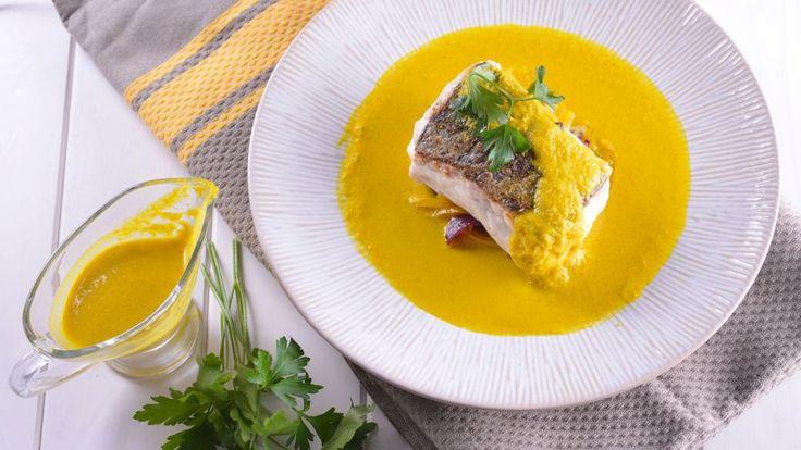 Merluza al ají amarillo - Gonzalo D'Ambrosio - Receta - Canal Cocina