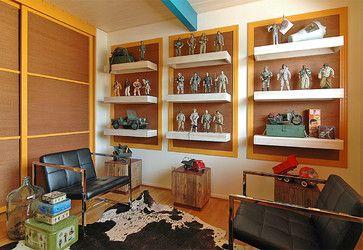 Gi Joe Collection. Cedarwood - modern - family room - orange county - Benedict August