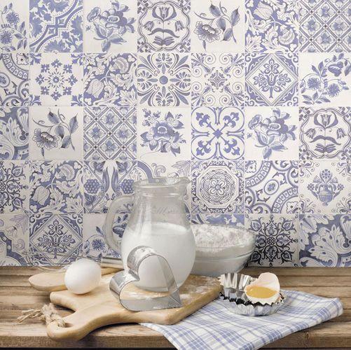 Wandtegel 15x15 cm wit - Oporto - Artikelcode: TOZCW130. - Nu in de aanbieding voor slechts € 19,85 p/m2 incl. BTW bij Tegels in Huis.nl