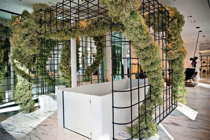 "ALEXANDER WANG,""Flagship Store"",store-design by KRAMER DESIGN GROUP, pinned by Ton van der Veer"