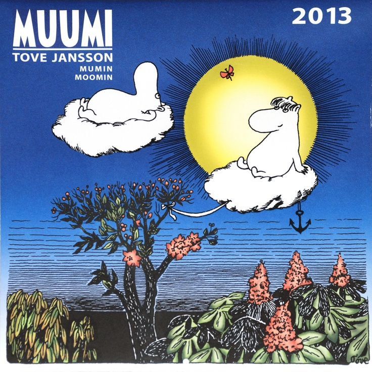 Moomin Calendar 2013 from Tove Jansson Illustrations