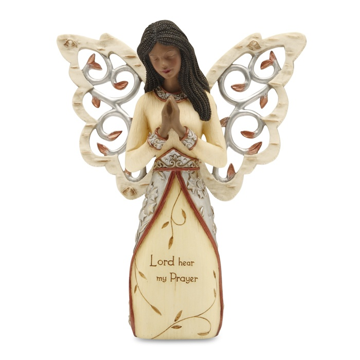 A prayer figurine from our Ebony Elements Figurines & Gifts Collection.  One of our most popular figurines in this collection.