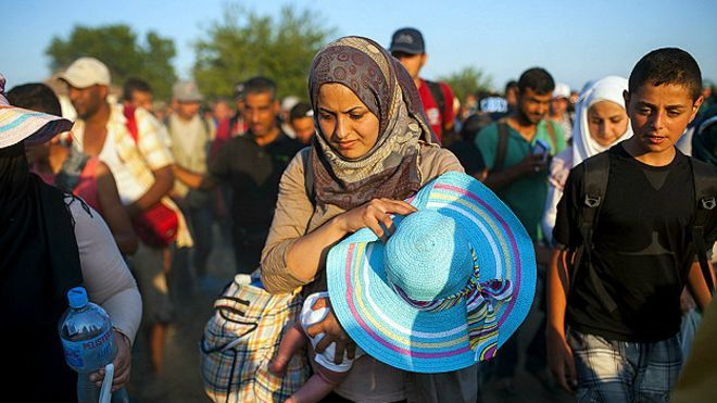 Qué está haciendo América Latina por los refugiados sirios - BBC Mundo