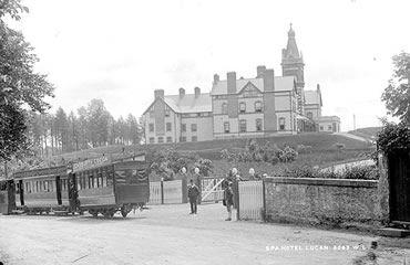 The Spa Hotel, Lucan c. 1900. #Irish #History