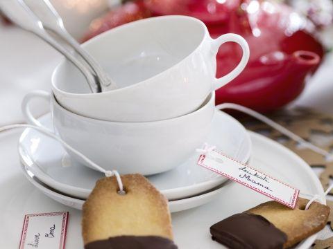 Ook lekker met witte chocolade en melkchocolade.