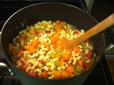 """""""Fat Burning Soup"""" has only 158 cals per serving and is SUPER filling."""