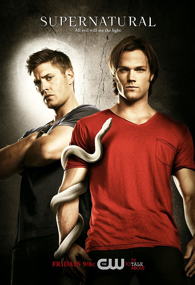 "Supernatural - love this tv show (was so hard to watch him go from Dean on Gilmore Girls to being Sam and then having his ""brother"" on this show be called Dean)"