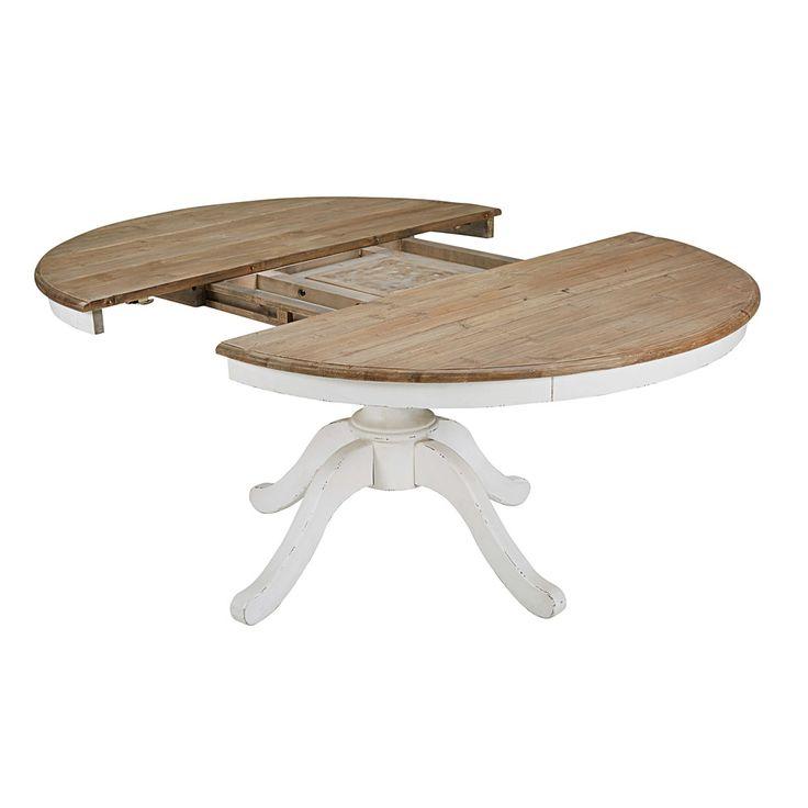 Les 25 meilleures id es de la cat gorie table ronde avec rallonge sur pintere - Tables rondes a rallonges ...