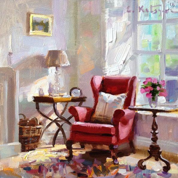 ELENA KATSYURA - BY THE WINDOW