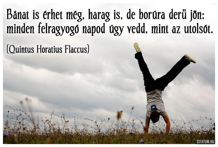 Quintus Horatius Flaccus #idézet