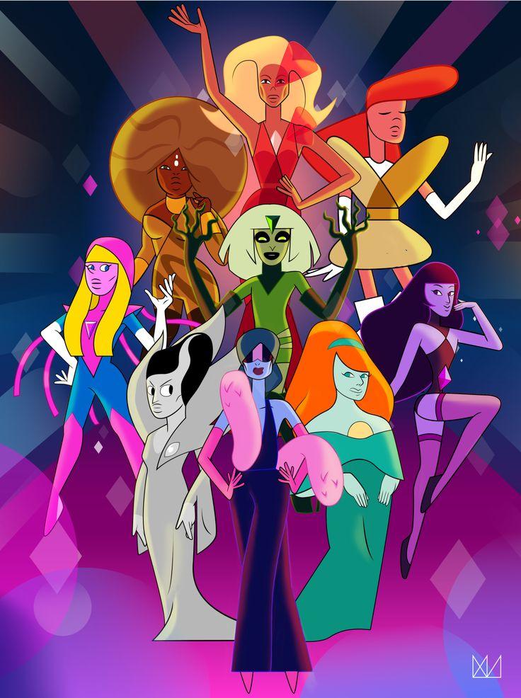 RuPaul Drag Race Winners from Steven Universe
