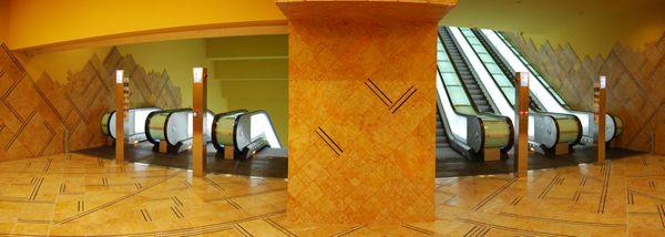 Oscar Tusquets Blanca - ARCHITECT - Public facilities - 6. Estación metro Toledo from Napols