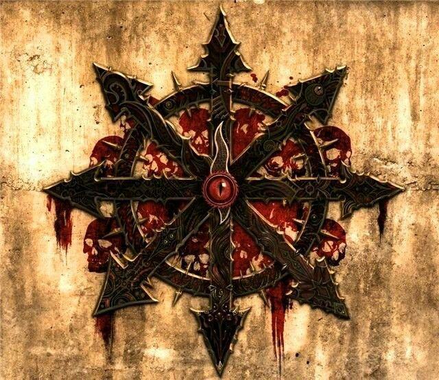 Chaos star of Khorne | Chaos tattoo, Fantasy tattoos ...