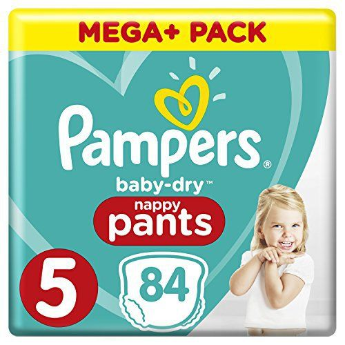 Pampers Baby Dry Pants With Air Ducts 84 Size 5 Bargains A Z