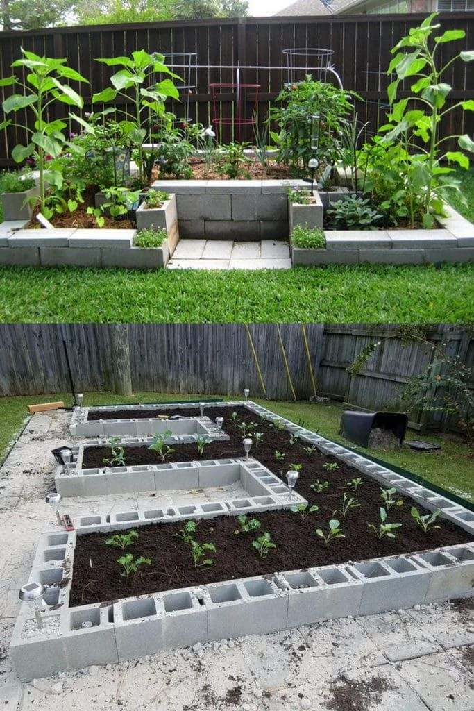 Not Your Typical Rectangular Raised Beds Like This Idea Raised