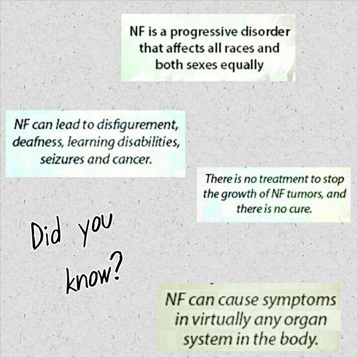 "Neurofibromatosis type 1 ""NF"" awareness Neurofibromatosis nf nf1 endnf special needs rare disease awareness advocacy"