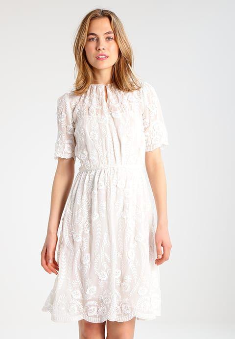 Sukienka letnia - ivoire