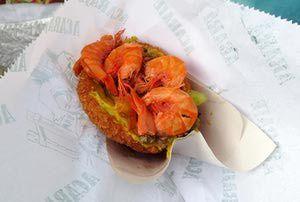 Brazilian Black-Eyed Pea and Shrimp Fritters - Acarajé