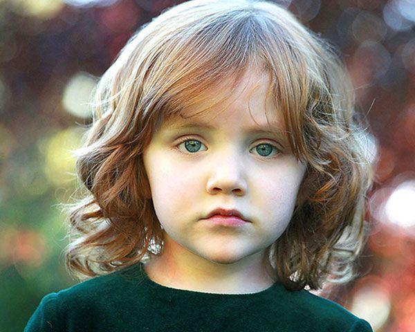 Cute girl hairstyles #frisuren #madchen