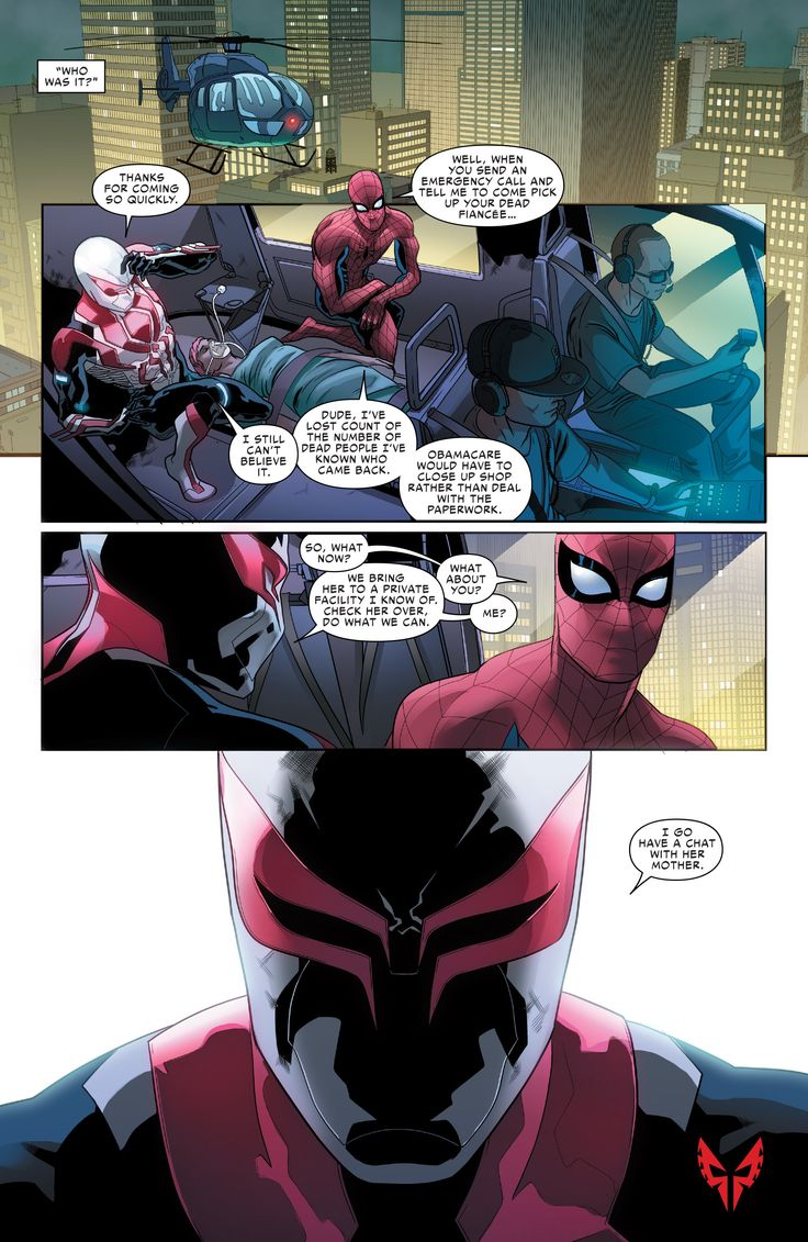 Bacakomik | Baca komik Spider Man 2099 Chapter 008