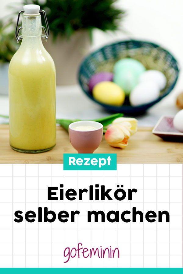 Eierlikör selber machen: Diese DIY-Variante ist schnell gemacht und einfach köstlich! #eierlikör #diyeierlikör #rezepteierlikör #eierlikörselbermachen