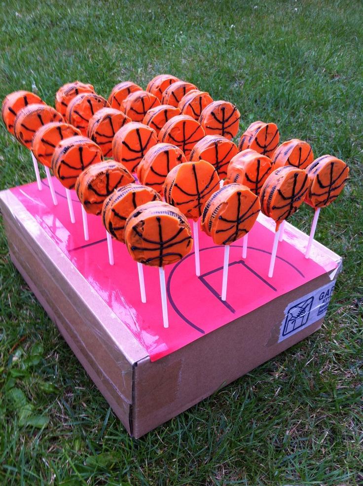 Basketbal koekjes