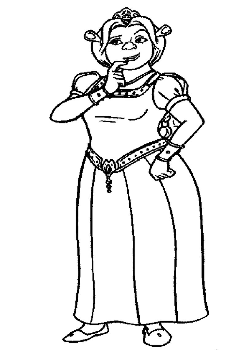 1000  images about shrek coloring pages on pinterest