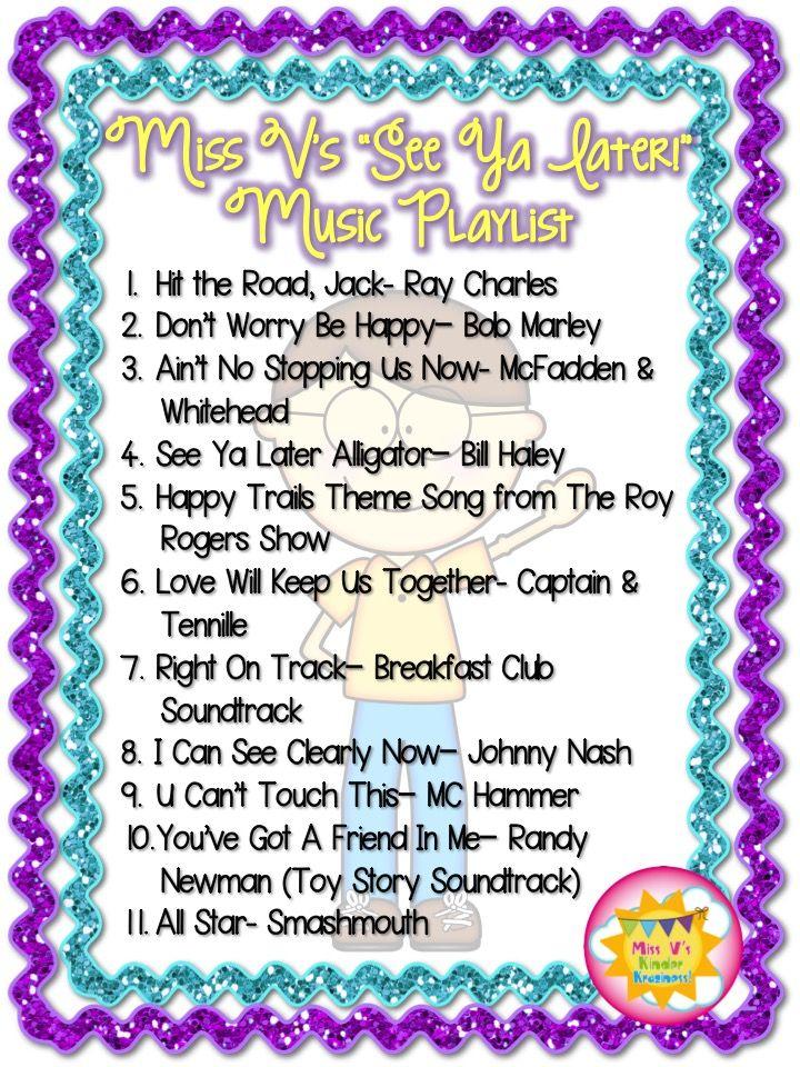 Elementary Classroom Playlist ~ Ideas about classroom playlist on pinterest