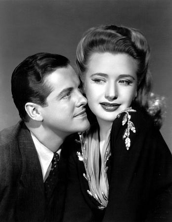 """Saboteur"" Robert Cummings and Priscilla Lane 1942 Universal"