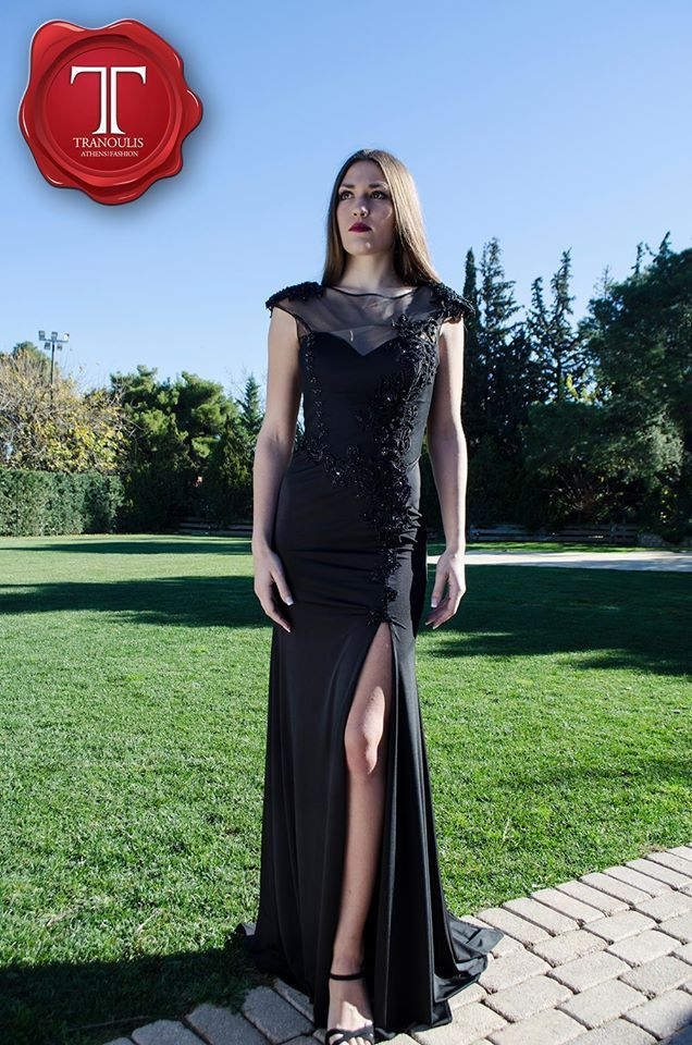 Evening dress by Tranoulis Haute Couture Photo: Marianita Georgoula Model: Renata Chatzopoulou
