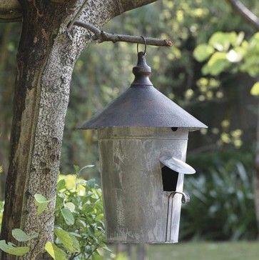 Distressed Metal Birdhouse - eclectic - birdhouses - atlanta - Iron Accents