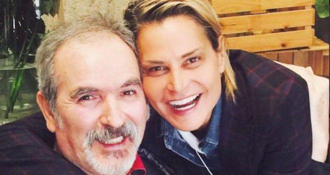 Lamberto Sposini con Simona Ventura su Twitter