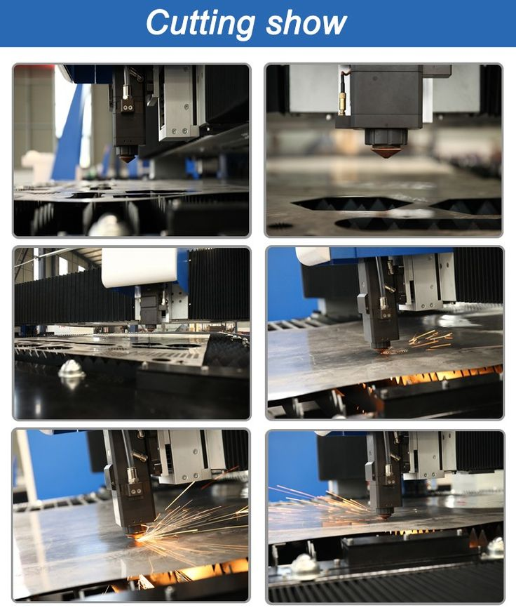 fiber laser cutting machine with high cutting speed high accuracy from baiwei laser.