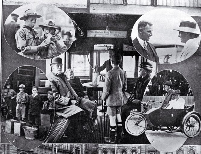 A tramway inhalation car