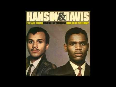 Hanson & Davis - Hungry For Your Love  #80s #90s #freestyle