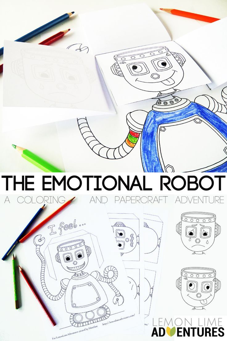 The Emotional Robot   Simple Emotional Intelligence Activity for Kids