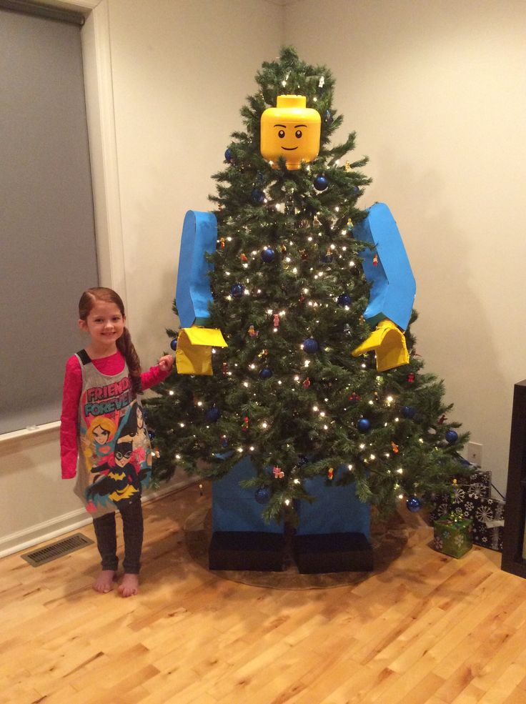 Lego Christmas Christmas Tree Decorations And Tree